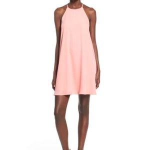NewWTags! Nordstrom Everly High Neck Trapeze Dress